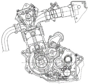 2 Stroke Piston Engine
